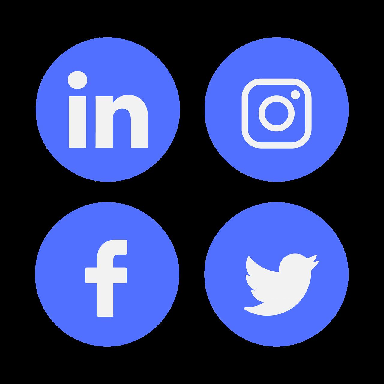 redes sociales wordpress